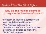 section 2 3 the bill of rights4