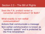 section 2 3 the bill of rights8