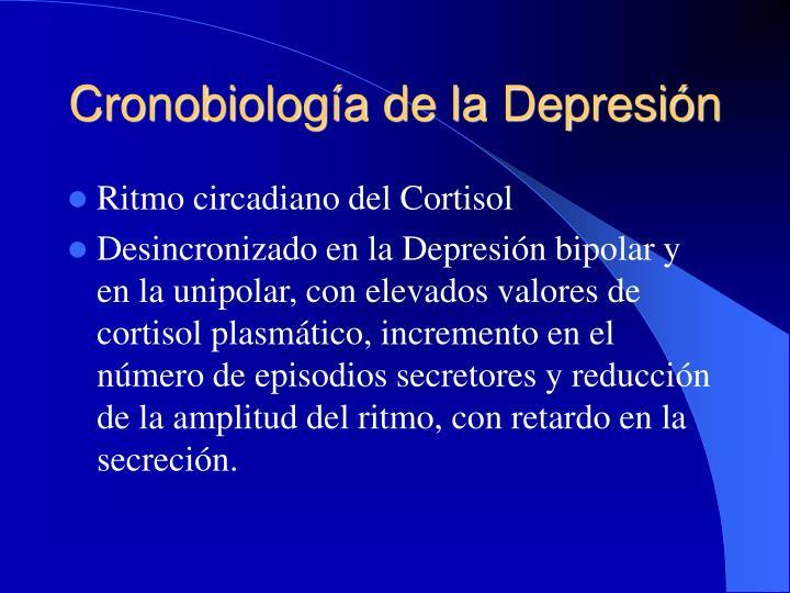 Cronobiología de la Depresión