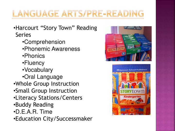 Language Arts/Pre-Reading