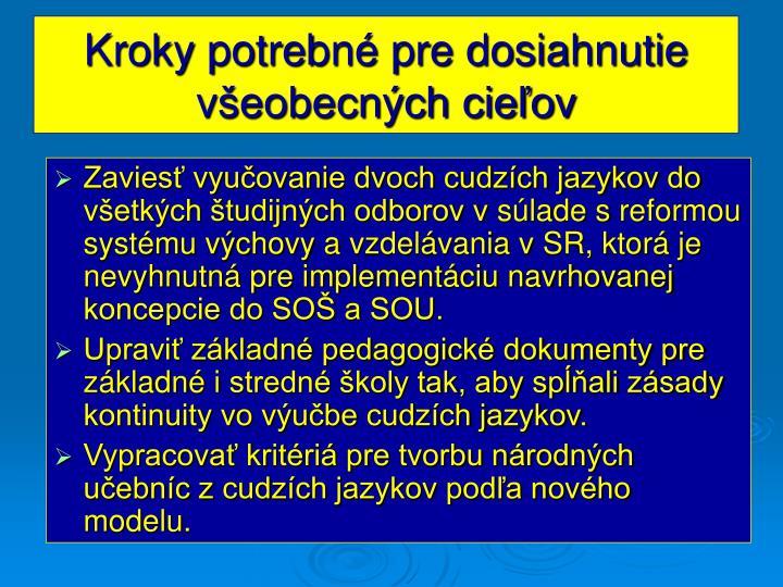 PPT - Schválená koncepcia výučby cudzích jazykov v základných a ... 8d020b5c3a7