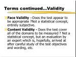 terms continued validity1