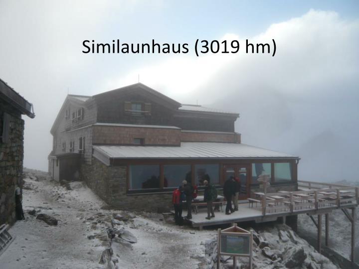 Similaunhaus (3019 hm)