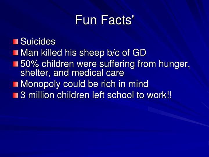 Fun Facts'