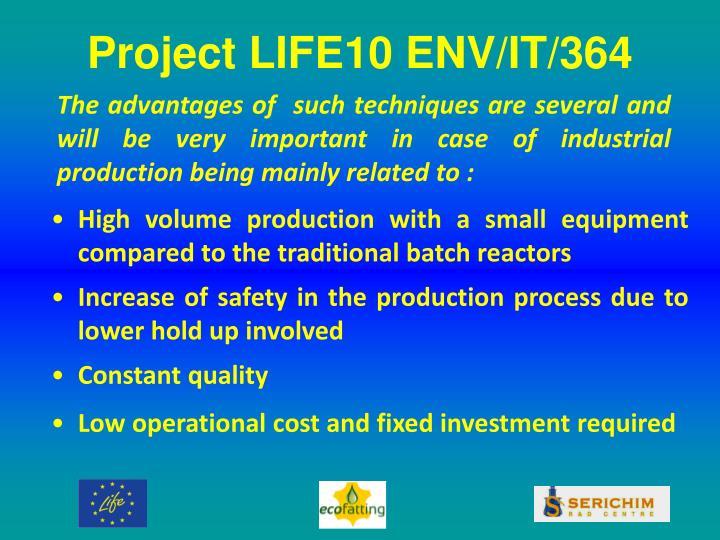 Project LIFE10 ENV/IT/364