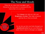 the nose and mouth1