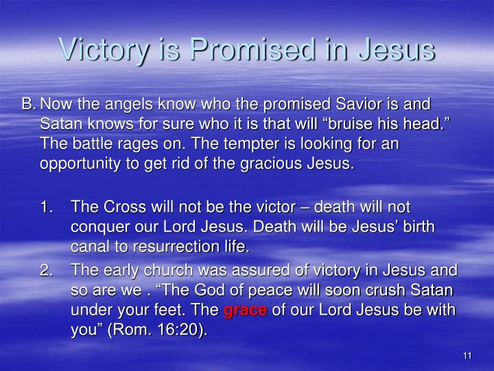 Victory is Promised in Jesus