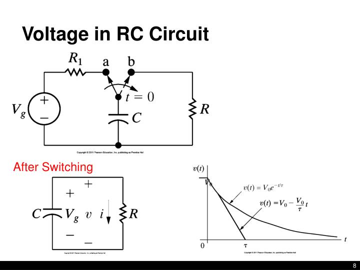 ppt - lecture 10  rl  u0026 rc circuits nilsson  u0026 riedel 7 1-7 6 powerpoint presentation