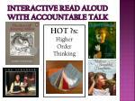 interactive read aloud with accountable talk