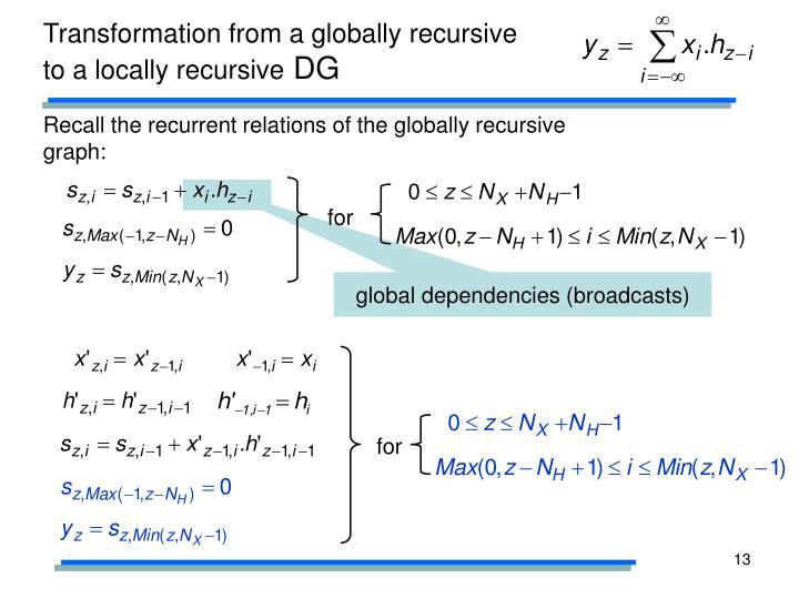 global dependencies (broadcasts)