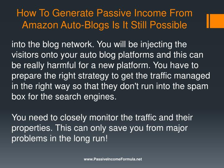 How to Make Money From Your Blog - Steve Pavlina