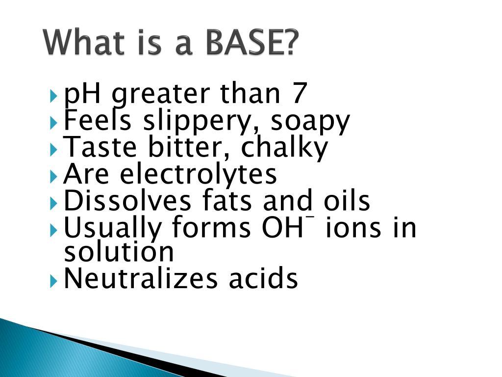 PPT - Acids, Bases, & Salts PowerPoint Presentation - ID:6544079