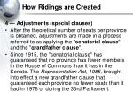 how ridings are created3