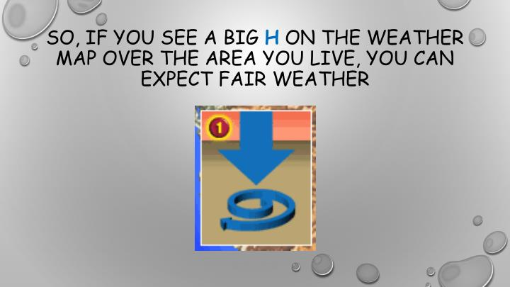 So, if you see a big