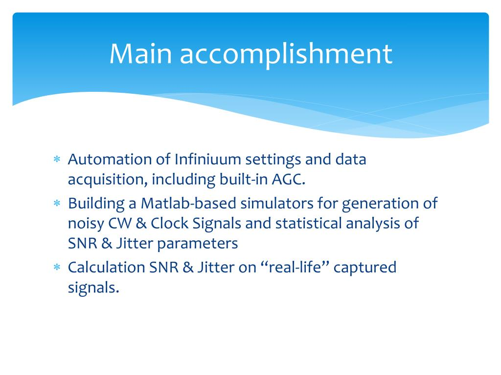 PPT - Matlab -based Scope Automation and data analysis SW PowerPoint
