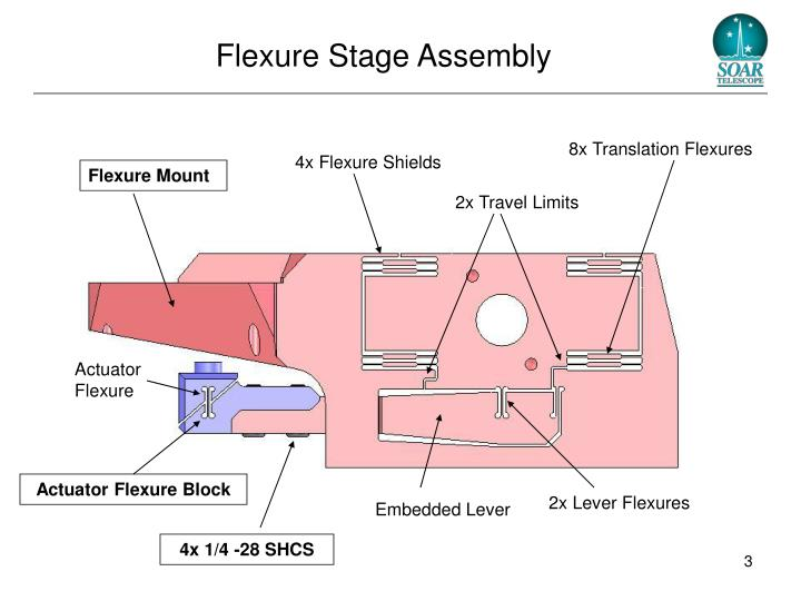 Flexure stage assembly