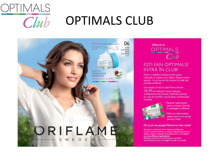 OPTIMALS CLUB