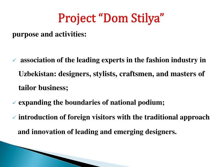 """Project """"Dom"""
