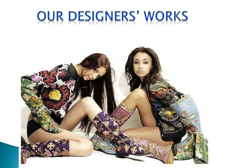 Our designers' works