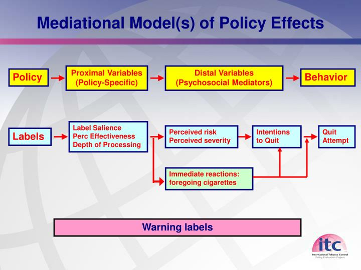 Mediational Model(s) of Policy Effects