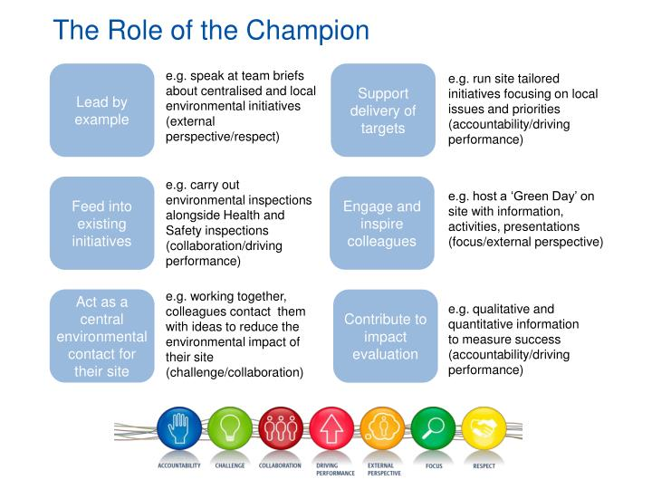 The Role of the Champion