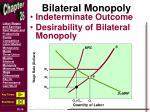 bilateral monopoly