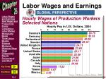labor wages and earnings1