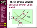 three union models2