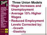 three union models4
