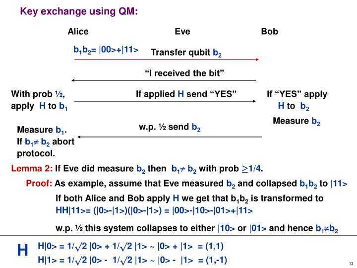 Transfer qubit