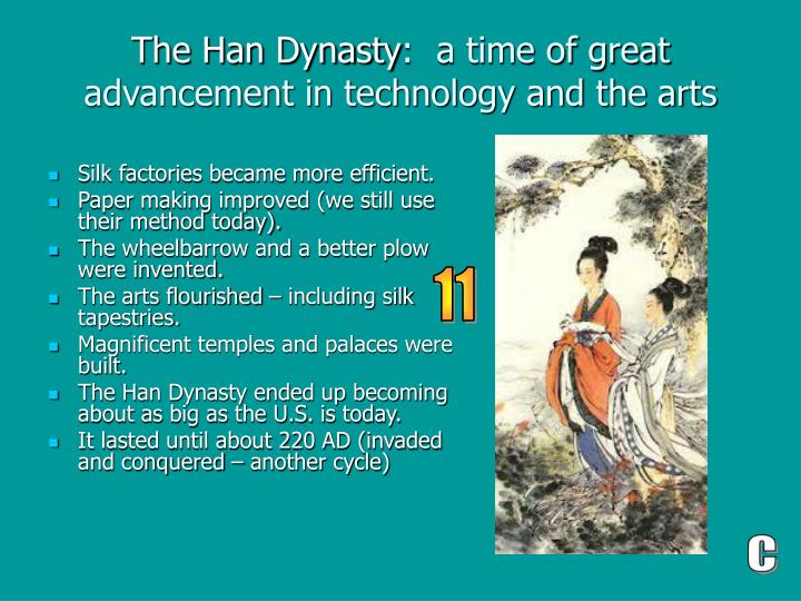 technological advances for the han and