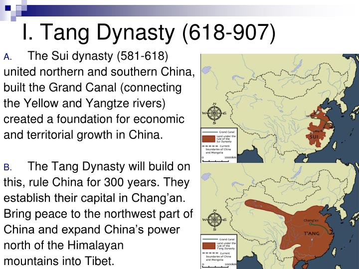 the sui dynasty essay Total sources: 2 page 1 of 5 sui, tang, and song dynasties according to ahmed (2015), after the han dynasty's disorganized and divided reign came to an end, the country experienced a period of preeminence beginning from 589 ce from 589 to 1279 ce, it underwent reunification, achievement.