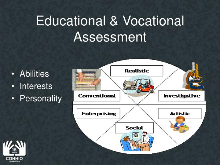 Educational & Vocational Assessment