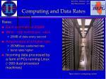 computing and data rates