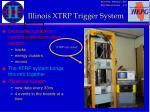 illinois xtrp trigger system