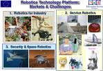 robotics technology platform markets challenges