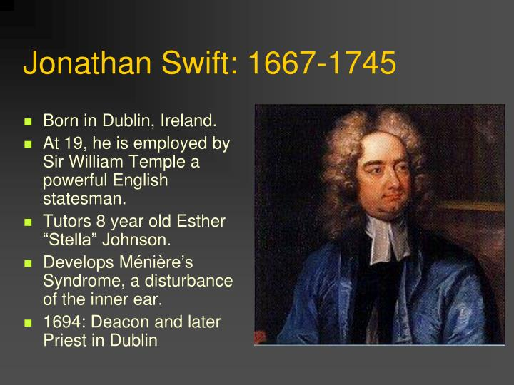 a comparison between a modest proposal by jonathan swift and a treatise of ireland by sir william pe