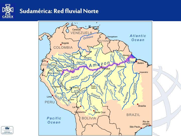 Sudamérica: Red fluvial Norte