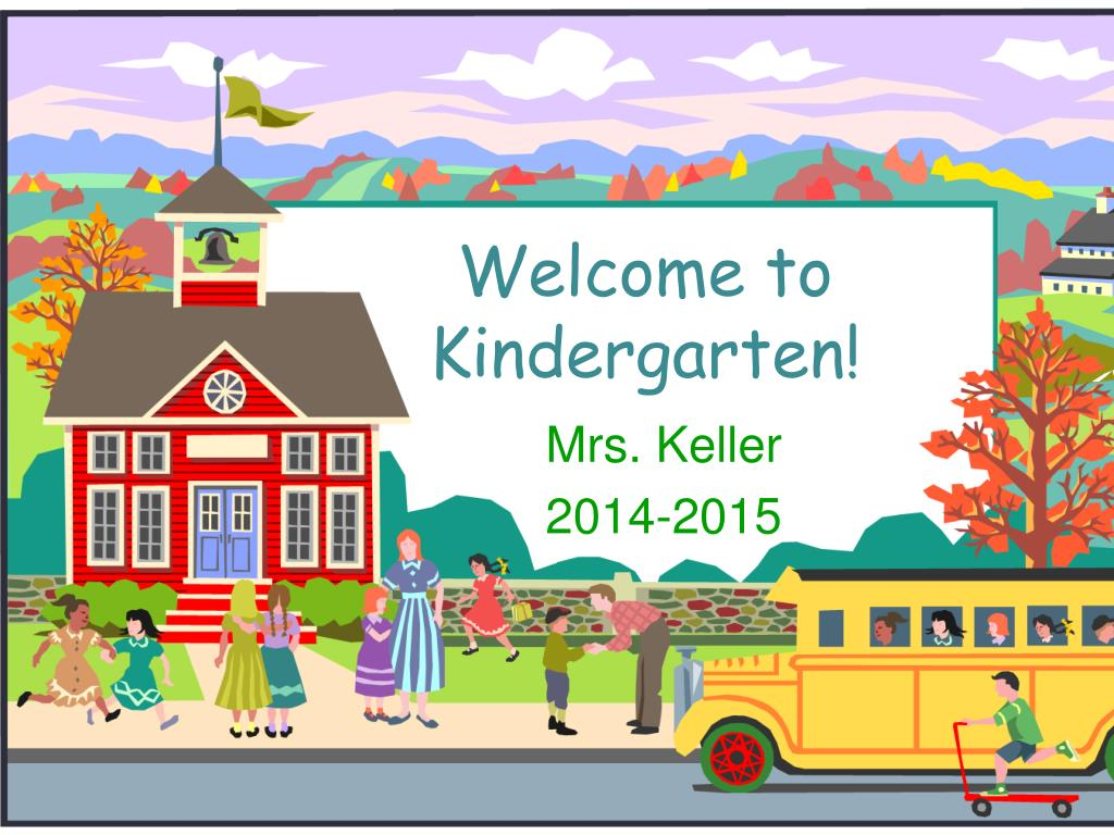 ppt welcome to kindergarten powerpoint presentation id 6548089