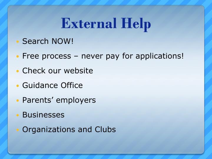 External Help