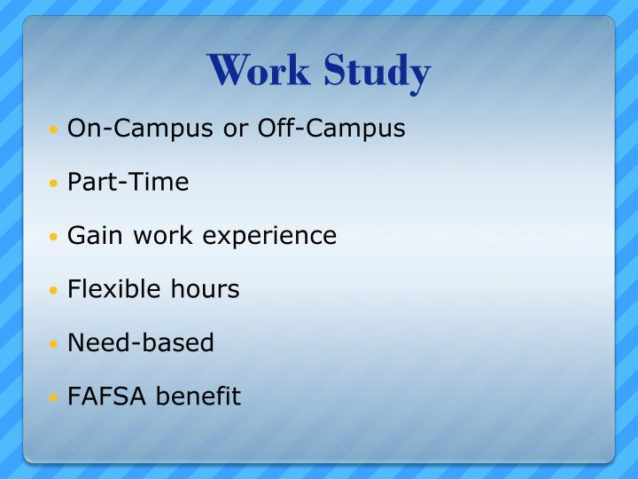 Work Study