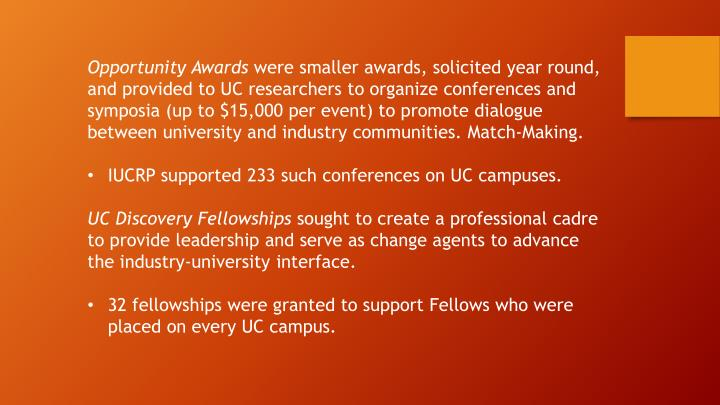 Opportunity Awards