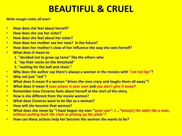 BEAUTIFUL & CRUEL