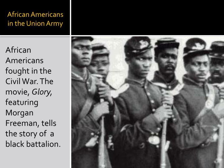 African Americans in the Union Army