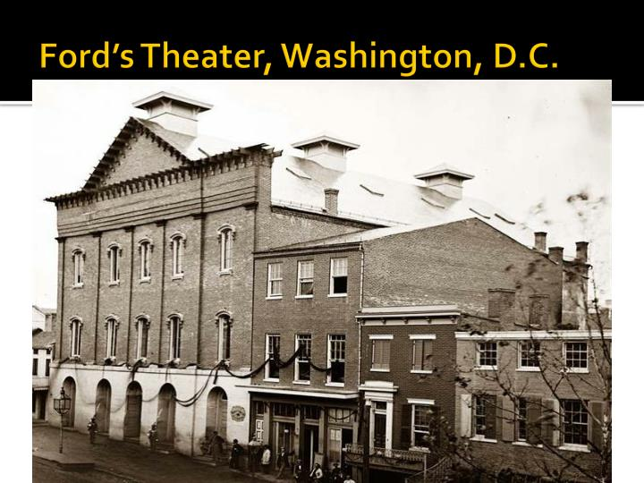 Ford's Theater, Washington, D.C.
