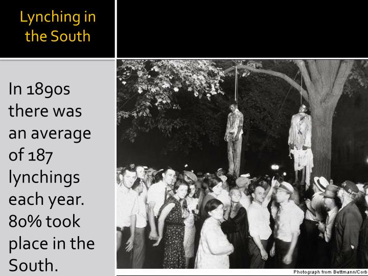 Lynching in the South