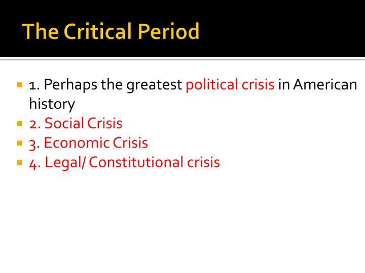 The Critical Period