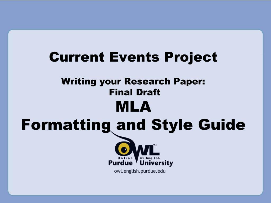final writing paper