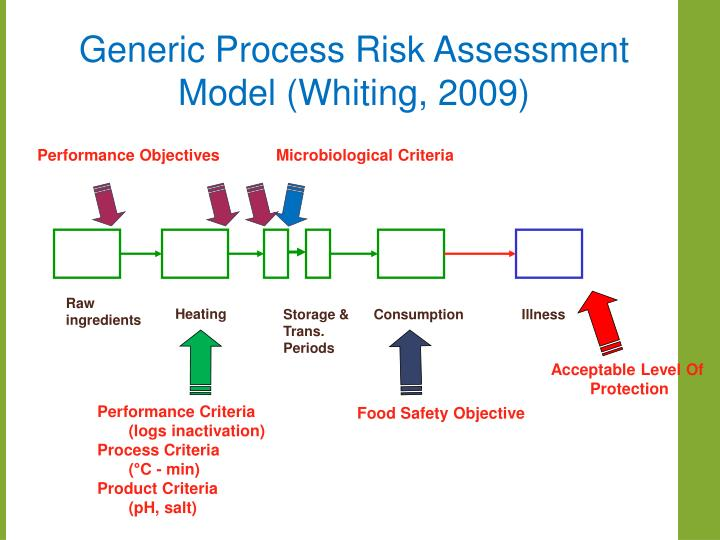Generic Process Risk Assessment Model (Whiting, 2009)