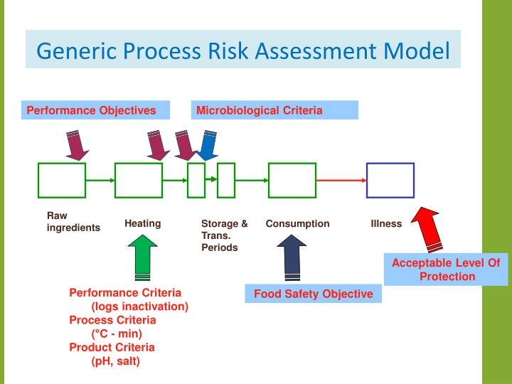 Generic Process Risk Assessment Model